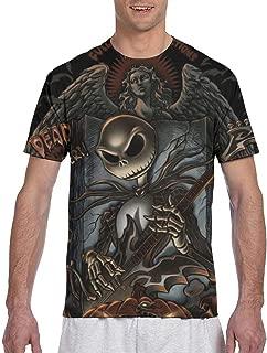 PX DIY SHOP Men Tops Big Boys Autumn T-Shirts Crewneck Short Sleeve 3D Graphic Print Top Tees