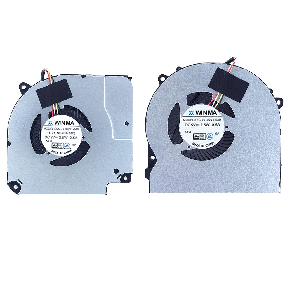 Manufacturer regenerated product New Replacement Cooling Fans for Popular overseas CU5NS CU5NB CU7 Z7M-CU5NA Hasee