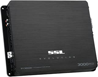 Sound Storm EV53000D Evolution 3000 Watt, 1 Ohm Stable Class D Monoblock Car Amplifier with Remote Subwoofer Control