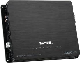Sound Storm EV53000D Evolution 3000 Watt, 1 Ohm Stable Class D Monoblock Car Amplifier with Remote Subwoofer Control