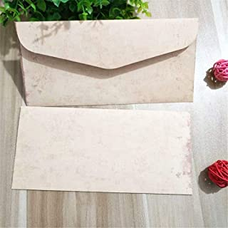 20pcs/set Vintage European Style Envelopes Letter Paper Bags Wedding Party Gift Bags Letter Pads Cover Wages Paper Bags (C...