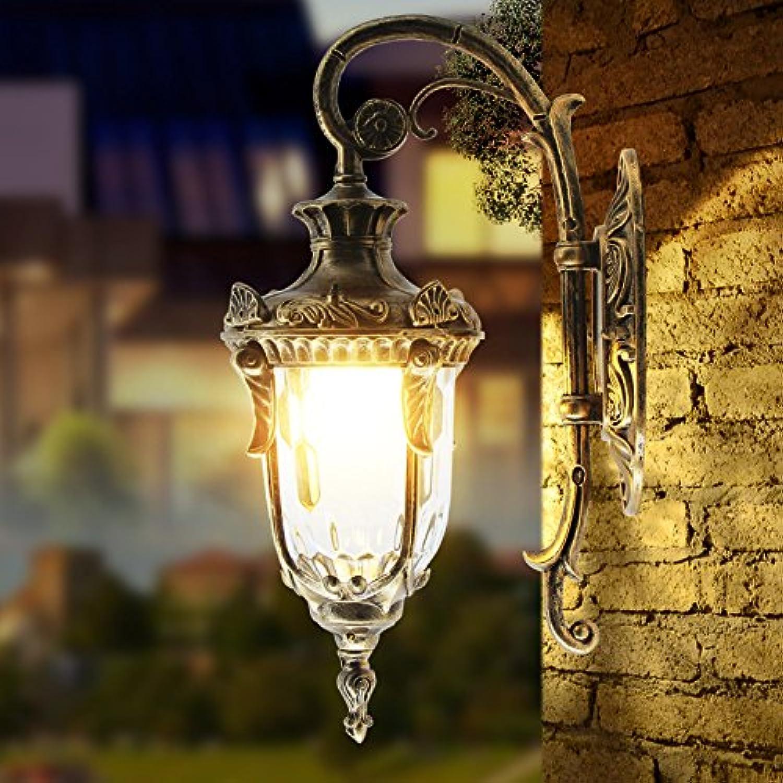 StiefelU LED Wasserfeste Auen-Wandleuchten balkon Innenhof Garten Lampe retro im Flur Licht Strae vor dem Haupteingang der Wand Licht, Farbe, hohe-62 cm