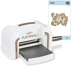 Spellbinders AMZ-010 Platinum 6 Inch Platform Cutting Machine + Die, White