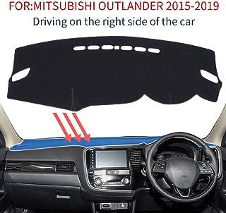 Pour Mitsubishi ASX RVR Outlander Sport 2011-2017 2018 Dash Mat Couverture de tableau de bord Dashmat Anti-salet/é Pad Tapis De Voiture Accessoires