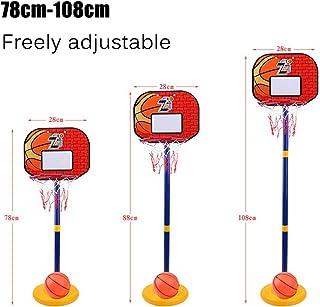 33Malls Portable Basketball Hoop Backboard for Kids Adjustable Height Indoor Outdoor Basketball Goal Game Play Set for Chi...