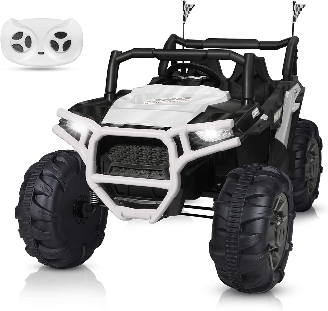BAHOM Kids 2 Seats Ride On Truck Electric Vehicle Toy 12V for To outlet 2021new shipping free