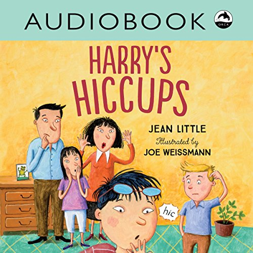 Harry's Hiccups audiobook cover art