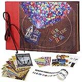 COMBIUBIU �lbum De Fotos Autoadhesivo, Regalo Creativo, Adecuado para Cumpleaños/Aniversario/Boda/Días Nobles, con Accesorios Exquisitos(a)