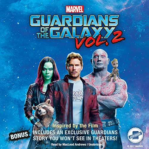 Marvel's Guardians of the Galaxy Vol. 2 audiobook cover art