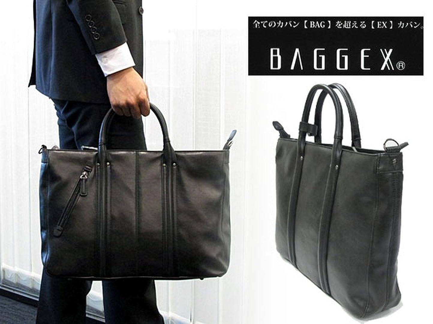 どちらも剃るもっともらしいバジェックス BAGGEX ビジネストートバッグ 23-5458-10 ブラック