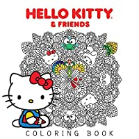 Hello Kitty & Friends Coloring Book (1)