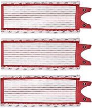 MIAOMIAO Hot 3 sztuk/partia Fit dla Vileda Edelweiss Mop 1-2 Spray Mop Wymiana Mikrofibra Wkład MOP Pad service