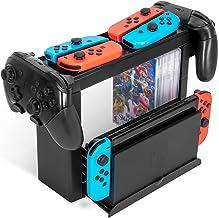 TwiHill Suporte multifuncional para Nintendo Switch, acessórios para console de videogame Nintendo