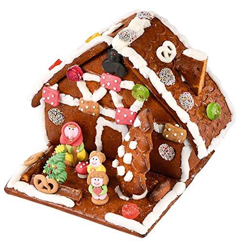 Lebkuchen Hexenhaus - Bastelspass für die ganze Familie. Unser Lebkuchen-Hexen-Häuschen von Haribo zum Selberbasteln mit einer Extra 200g an Schokotalern gehört zu Weihnachten wie die Geschenke am Heiligen Abend. Netto Gewicht 700g. €13,59/kg