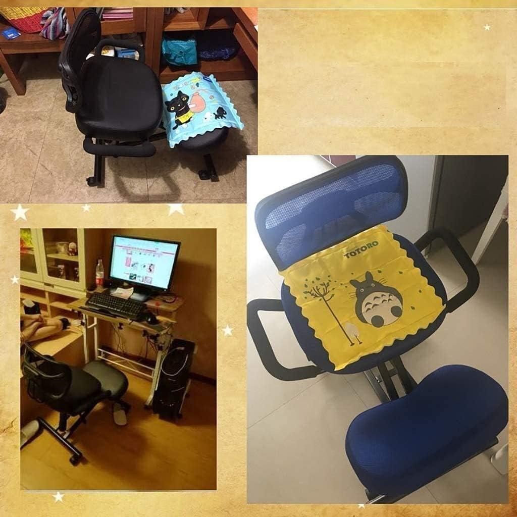YLJYJ Chaises de Bureau à Genoux Chaise de Travail Ergonomique réglable en Hauteur et réglable Posture correcte (Couleur: C) B