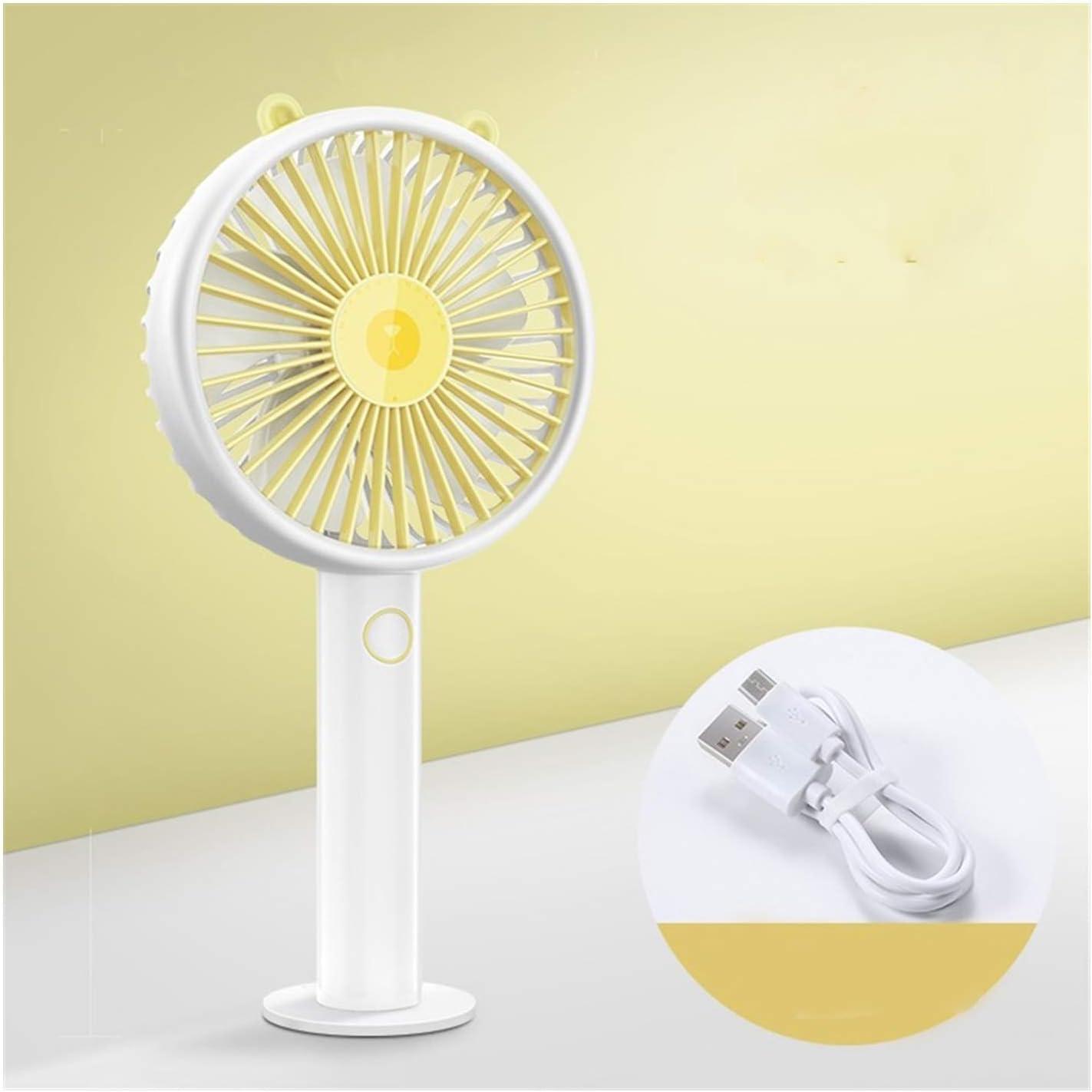 Wangqianli Mini Round Fan USB Handheld Electric 5 Don't 5 ☆ popular miss the campaign Desktop Le
