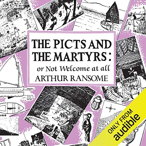 The Picts & the Martyrs audiobook cover art
