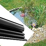 LKP 2X8m Revestimiento De Estanque Flexible Revestimiento De Estanque De HDPE Lona De Estanque De Jardín Prefabricados Película Impermeable De 0.2mm