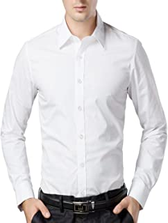 U-TURN Men's Cotton Solid Full Sleeve Shirts…