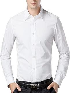 U-TURN Men's Cotton Solid Shirt