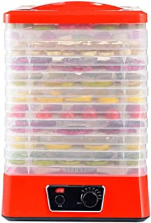 Déshydrateur Alimentaire, Contrôle de la Température 35-70 ° C, avec 10 Plateaux, Faible Consommation D'énergie - Facile à...