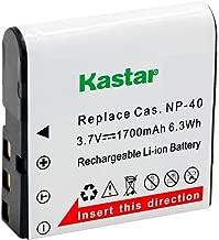 Kastar CNP-40 Battery (1-Pack) for Kodak LB-060 AZ521 AZ361 AZ501 AZ522 AZ362 AZ526, HP D3500 SKL-60 V5060H V5061U Cameras and SUN06 YCO6 Full HD Portable Camcorders