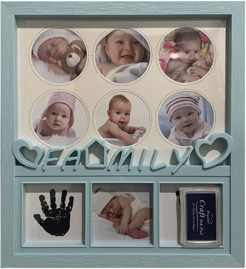 HANZILEI Baby Pictures Display Handprint Stand Footprint Direct stock discount Record Challenge the lowest price of Japan