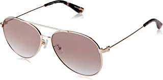 Sass & Bide Women's Watsonia SAS1809805 Aviator Sunglasses,Gold,60 mm