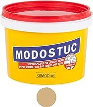 Originele MODOSTUC houten stopverf - 1 kg gebruiksklare vulmassa voor hout & muur, houtvuller, perfecte kleefkracht & snel...