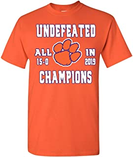 T Shirt Jerks Tigers 2019 National Champions Undefeated T Shirt
