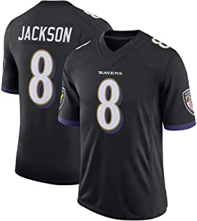 Franklin Sports Men's Justin-Tucker Baltimore Ravens Purple Color Classic Personality Jersey