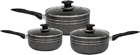 1 gal 9.4 in//4.8L 24cm Cooking Soup Pot Casserole Saucepan Without PFOA EPPMO Stainless Steel Nonstick Stock Pot with Glass Lid Suitable for All Cookers Including Induction