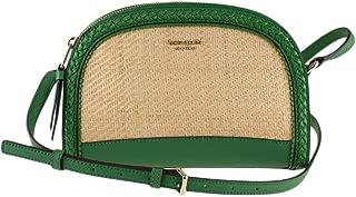 Kate Spade New York Dome Shaped Straw Crossbody Bag