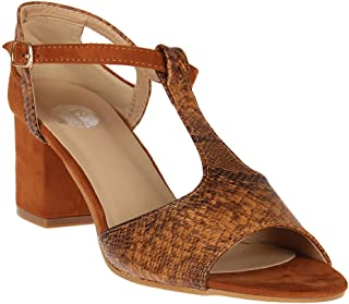 Red Pout Women Brown Sandals