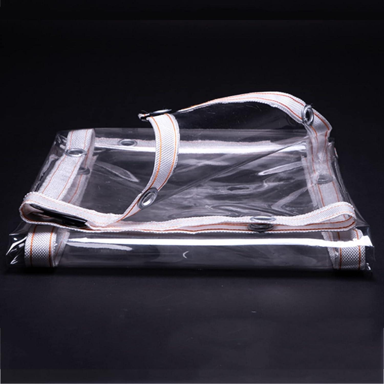 Max 68% OFF XBAOMING Transparent Tarpaulin Tear Waterproof Durable Resistant Columbus Mall