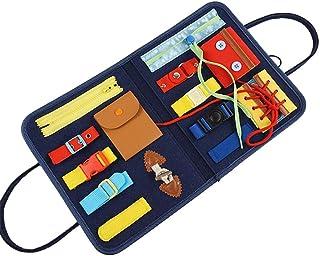 El Tablero sensorial Educativo Montessori Toy Essential, el