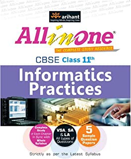 CBSE All in One Informatics Practises for Class 11th by Harshit Garg - Paperback
