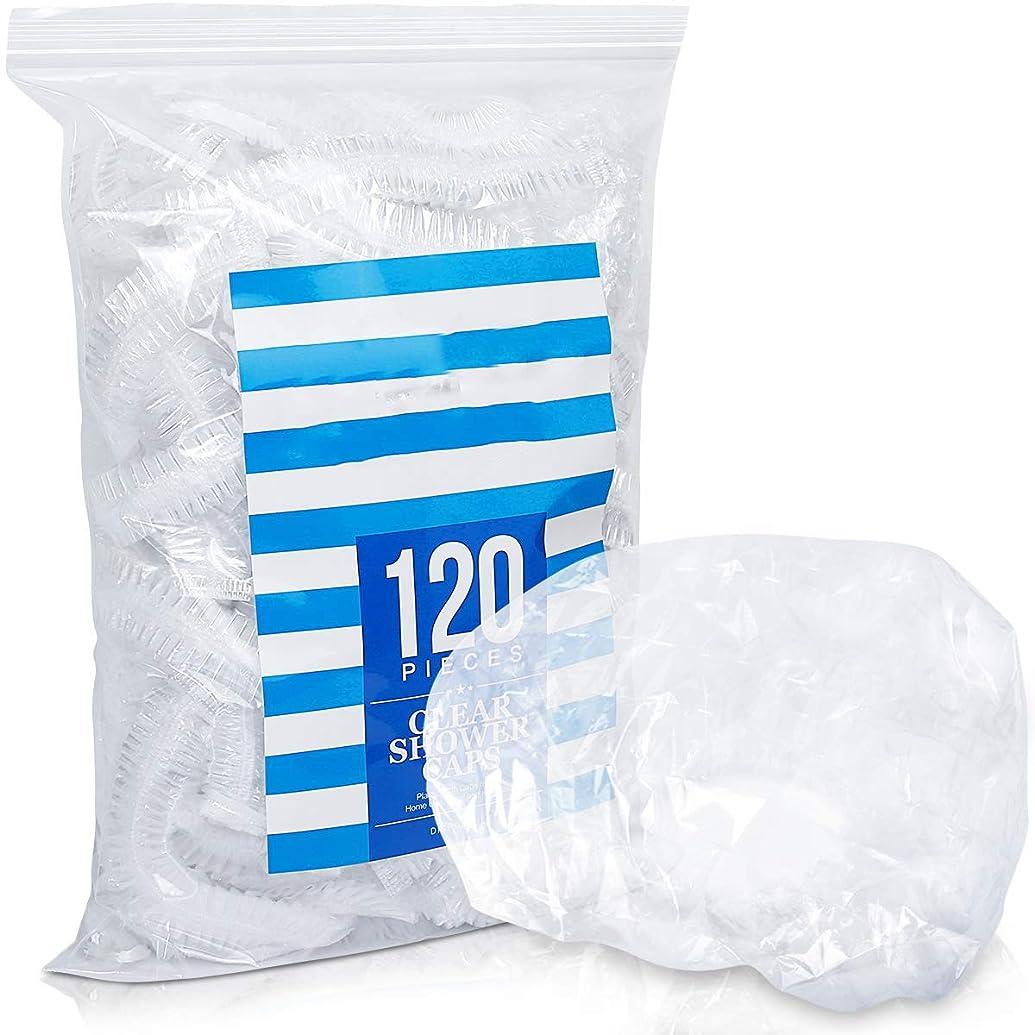 ジャンピングジャック配分旅行使い捨てキャップ シャワーキャップ ヘアキャップ120枚 高品質