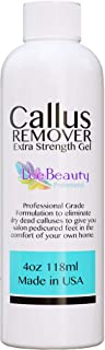 Callus Remover gel for feet for a professional pedicure. Better results than, foot file, pumice stone, foot scrubber, foot buckets & callus shaver. Rid ugly callouses from feet in minutes!