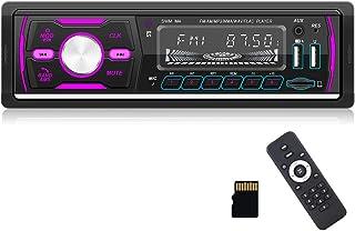 $59 » CAMECHO Single Din Car Stereo Bluetooth Audio 1DIN Car Radio with FM/AM/RDS/DAB+ Radio Receiver MP3 Player Dual USB/SD/AUX...