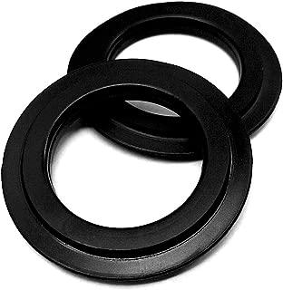 2Stk. Universal de labios Junta 43mm de diámetro para Stop Válvula de tapón y colador cesta–para Notebook Junta–Válvula de desagüe y: Junta