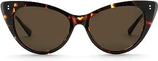 Sunday Somewhere Women's Piper Wrap Sunglasses, Dark Choc Tort, 53 mm