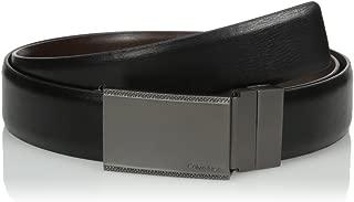 Men's Calvin Klein Plaque Buckle 30mm Reversible Belt