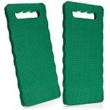 com-four® 2X Kniekissen für den Garten - Kniematte für die Gartenarbeit - Kniepolster für Handwerk und Freizeit - Knieschutzmatte wasserbeständig, wärmedämmend (02 Stück - Kniekissen)