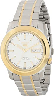 SEIKO Men's Automatic Watch, Analog Display and Stainless Steel Strap SNKE54J1