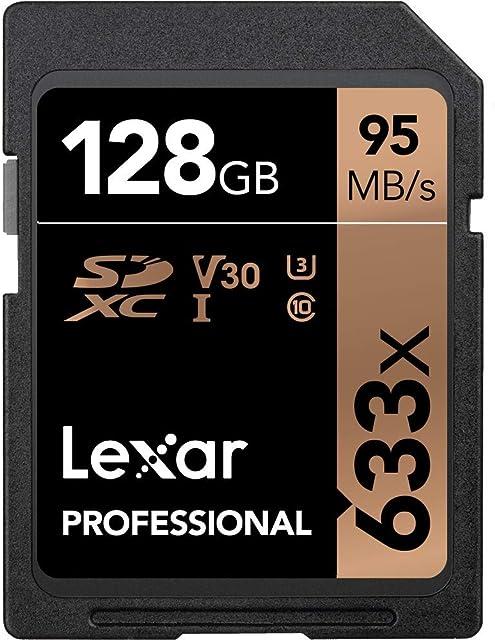 Lexar Professional 633x - Tarjeta de memoria de 128 GB (SDXC UHS-I)