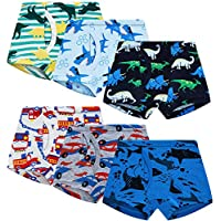 6-Pack HeyKing Toddler Boxer Briefs, Size 2-3T