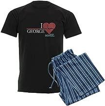 CafePress I Heart George - Grey's Anato Pajama Set