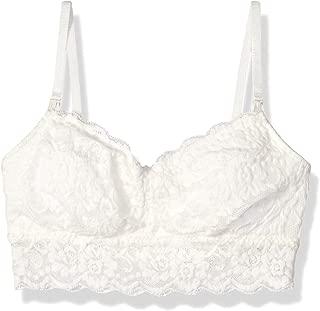 Amazon Brand - Arabella Women's Classic Lace Nursing Bralette (For A-C Cups)