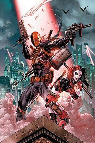 DC Comics - Deadshot & Harley Quinn Suicide Squad - Retro Druck Plakat Film Poster - Größe 61x91,5 cm